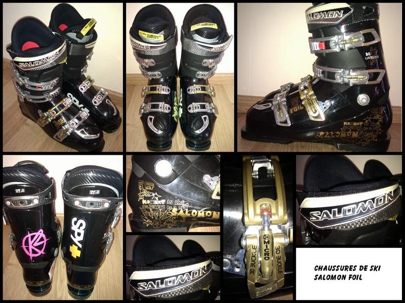Vends Chaussures ski Salomon Foil : Matériel à de ski alpin à Matériel vendre e358a1