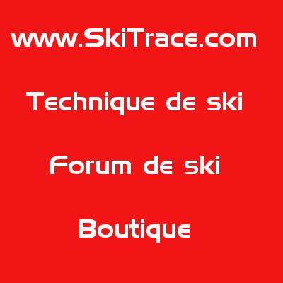 Attache ski skitrace (la paire)